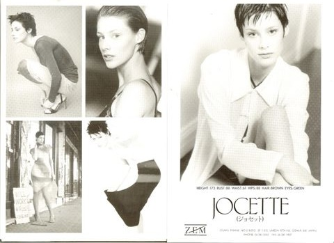 Jocette Coote Composite card Japan