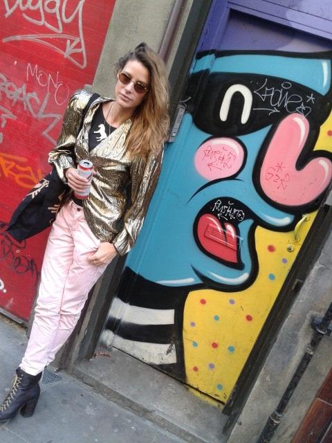 Brick Lane Gold trend Jocette Coote