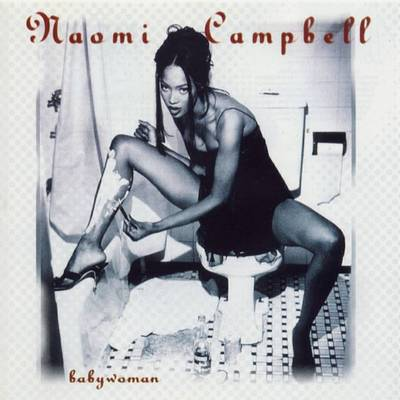 Naomi Campbell on Toilet