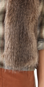 club-monaco-brown-matilda-faux-fur-vest-