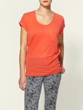 rag-bone-orange-the-pocket-tee-