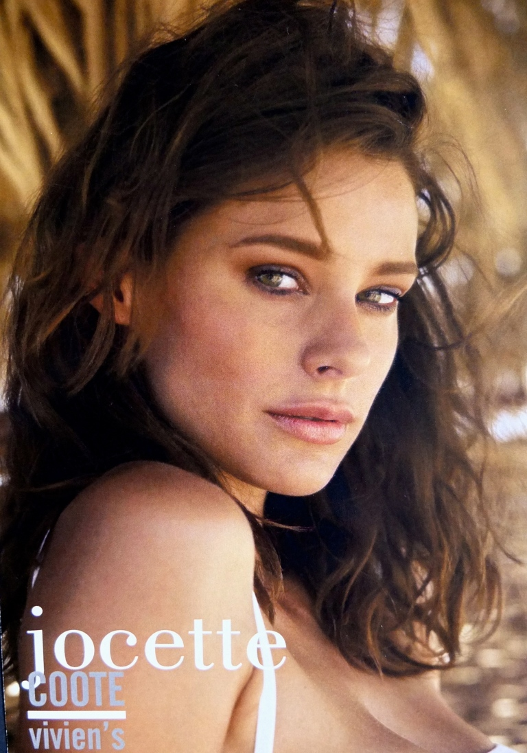 Jocette Coote Model Composite Card