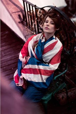 Jocette Union Jack Trend, Photography Sivan Miller