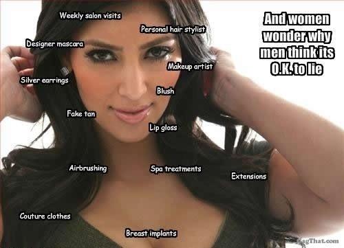 Fake Kim Kardashian