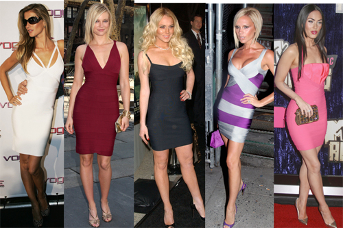 Herve Leger Bandage dress, that every celebrity wore