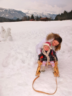 Jocette and Roxette in LAAX for The Model Experience